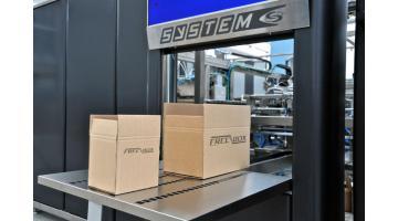 Sistema confezionamento scatole su misura