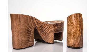 Zeppe in legno per calzature