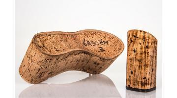 Zeppe e plateau in legno