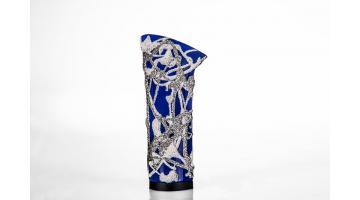Tacchi in materiali plastici decorati