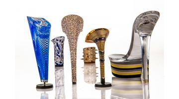 Tacchi in materiali plastici per scarpe