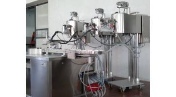 Riempimento a caldo prodotti cosmetici SWIRL 3C