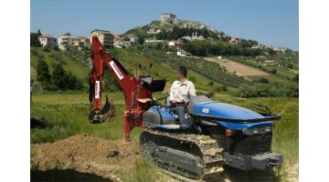 Retroescavatori per lavori agricoli