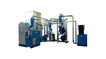 Завод T300 серии для извлечения металлов из измельчения электрических кабелей