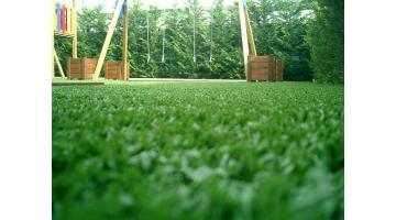Prato sintetico morbido per giardino
