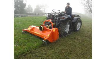 Trinciatrice professionale per erba e sarmenti