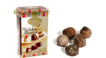 Scatole in metallo per cioccolatini Caffarel