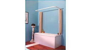 Box doccia per alberghi top project hotel - Tenda doccia per vasca ...