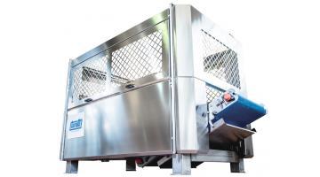 Centrifuga automatica per prodotti in foglia