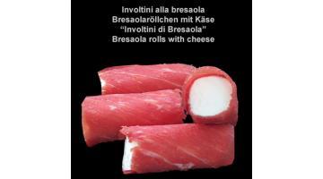 Involtini di formaggio e bresaola