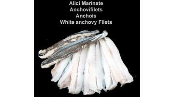 Alici marinate in vaschetta