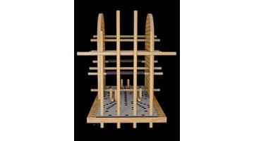 Piattaforma per allungamento della colonna vertebrale