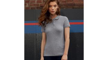Рубашка поло с коротким рукавом из натурального хлопка