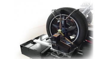 Assetto per allineamento ruote veicoli