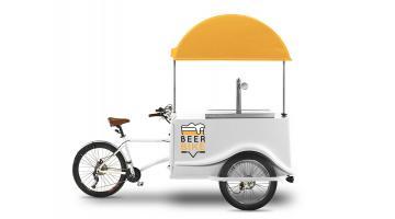 Beerbike: carretto per vendita ambulante birra