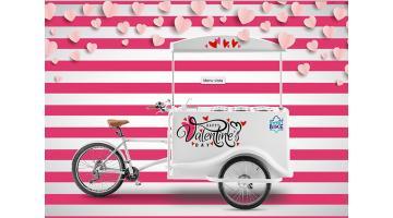Carretti gelato personalizzati