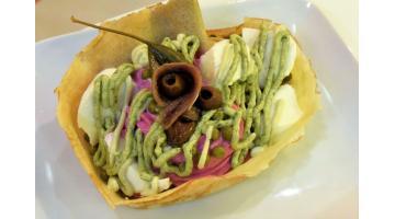 Crepes pronte surgelate salate