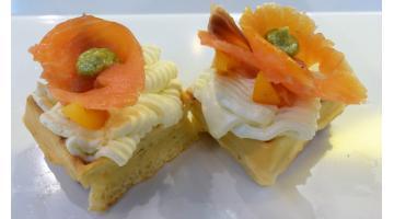 Mix universale per waffel salato farcito