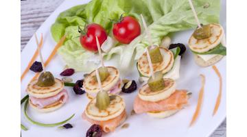 Blinis salati pronti