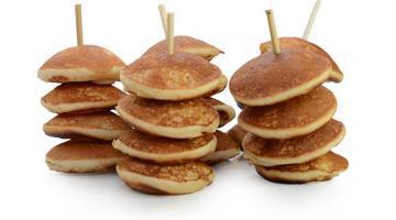 Mini pancakes pronti