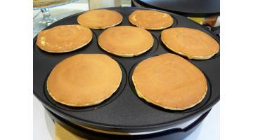 Mix dolce per preparazione pancakes