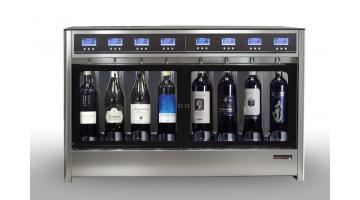 Dispenser vino 4+4 bottiglie