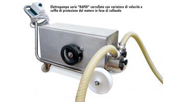 Elettropompa carrellata per industria farmaceutica