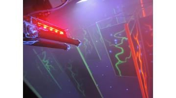 Noleggio rocket laser game