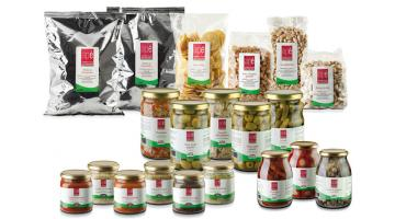 Prodotti per aperitivo all'italiana