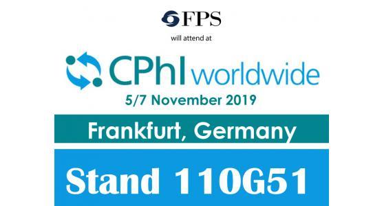 FPS sarà presente alla 30° edizione del CPHI WW a Francoforte