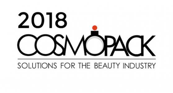 COSMOPACK 2018, dal 15 al 19 marzo presso BolognaFiere
