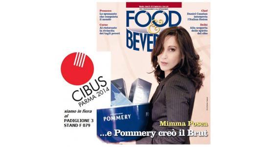 FOOD&BEVERAGE sarà al Cibus di Parma