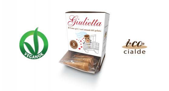 Sigep 2018 cono arrotolato gluten free GIULIETTA I.CO CIALDE