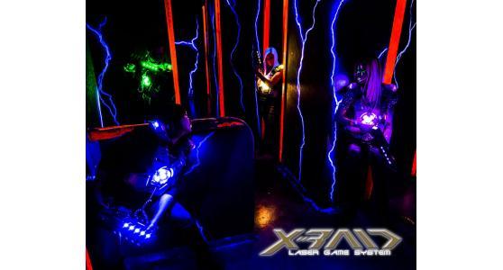 XRAID Laser Tag System
