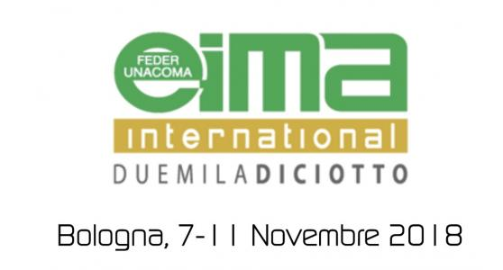 Eima 2018: from 7 to 10 November