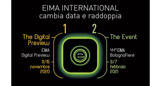 EIMA International cambia il calendario e raddoppia