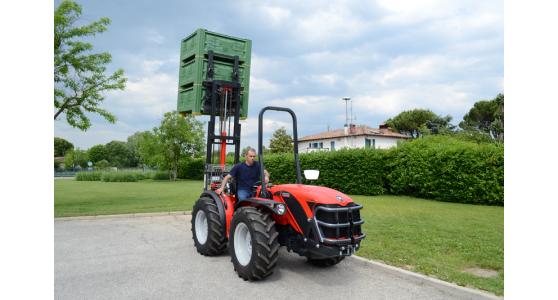 Elevatore Idraulico Triplex Per Trattori Agricoli 16thad Cm