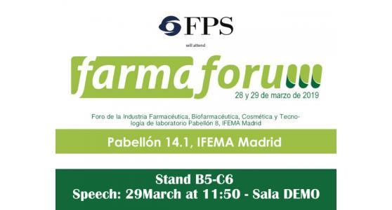 FPS al FARMAFORUM 2019 di Madrid