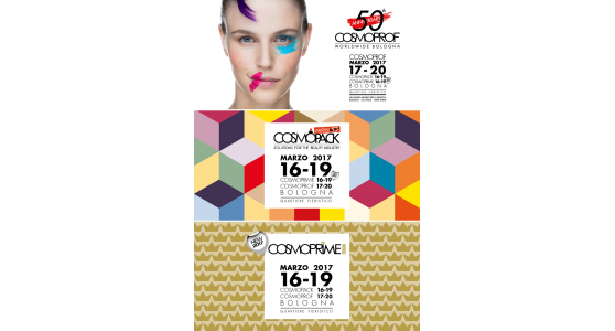 Cosmoprof 2017, the fair celebrates its 50 years
