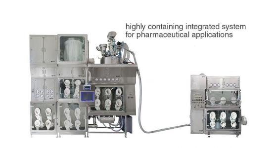 Fine-size chemical-pharmaceutical containment and micronization systems – FPS