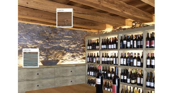 Decorativo per legno per interni effetto anticato RISALTO FERONI