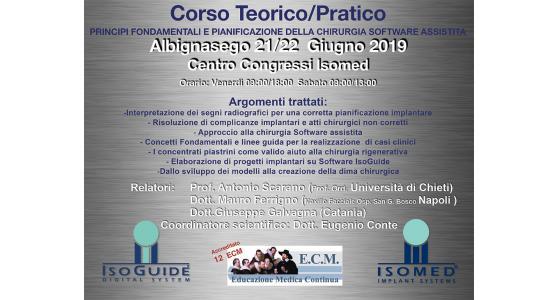 Chirurgia ortodontica computer assistita: il corso teorico e pratico di ISOMED