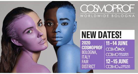 THE 2020 EDITION OF COSMOPROF WORLDWIDE BOLOGNA HAS BEEN POSTPONED