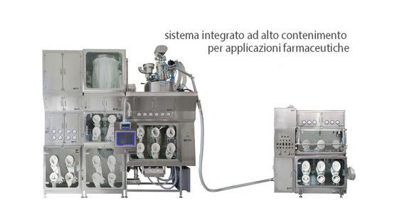 Sistemi contenimento e micronizzazione fine chimico-farmaceutica - FPS
