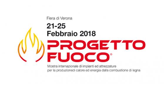 PROGETTO FUOCO 2018, dal 21 al 25 febbraio Verona Fiere