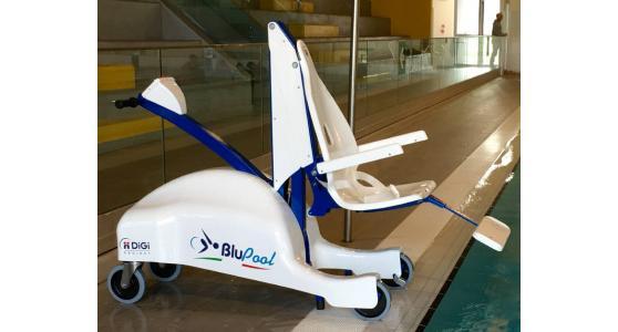 Sollevatore per disabili in piscina BluPool MARIANI LIFT SYSTEM