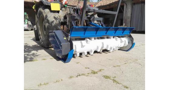 Trinciatrici forestali per trattori e skid steer loader TSLQ SSQ OSMA