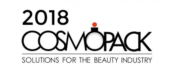 COSMOPACK 2018, from 15 to 19 March at BolognaFiere