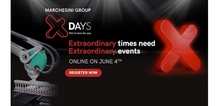 Marchesini Group presenta gli X DAYS 2020