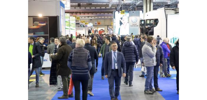 TRANSPOTEC LOGITEC 2019:  visitors record